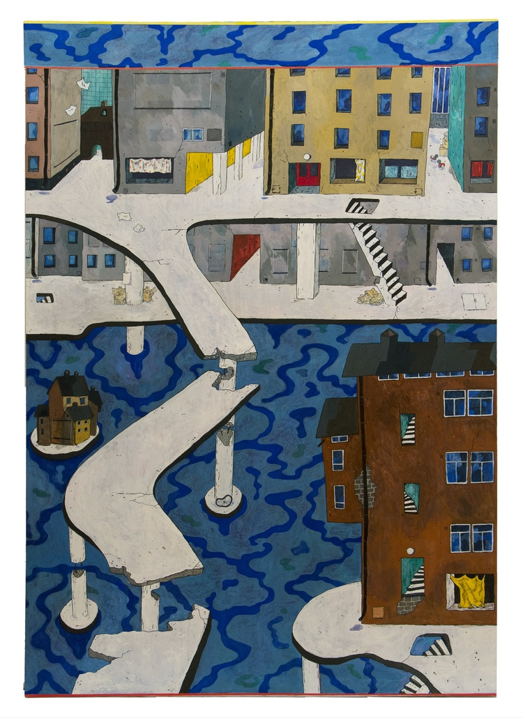 'Kilroy Was Never Here', 2012, ett konstverk av Kristina Abelli Elander