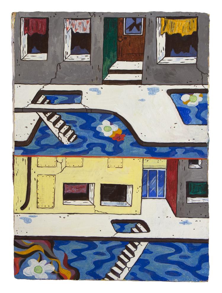 'My Street - Back Then', 2014, ett konstverk av Kristina Abelli Elander
