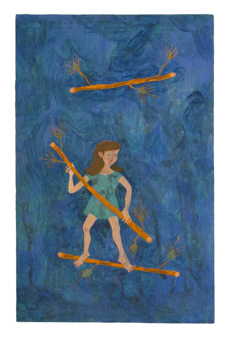 'The 3 Wands', 2016, ett konstverk av Kristina Abelli Elander