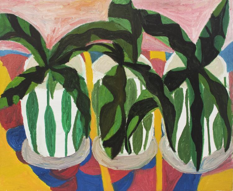 'Blomma ut', 2019, ett konstverk av Eva Kerek