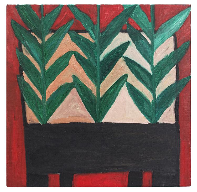 'Gräs', 2018, ett konstverk av Eva Kerek