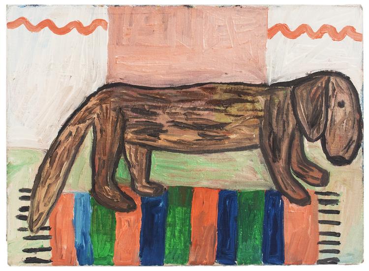 'Hasse', 2016, ett konstverk av Eva Kerek
