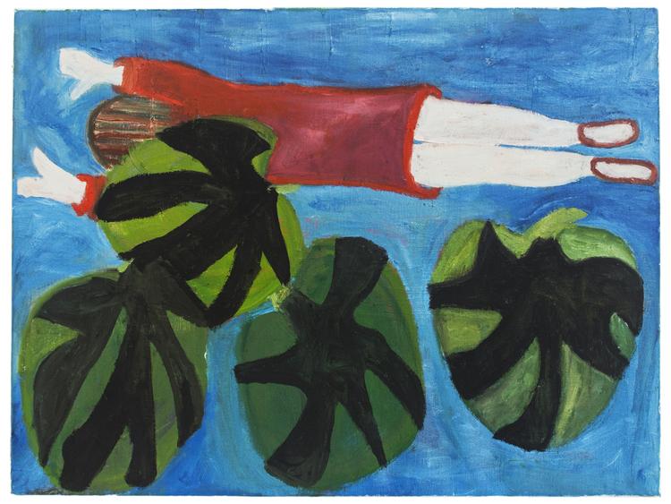 'Sommaren 2018', 2019, ett konstverk av Eva Kerek