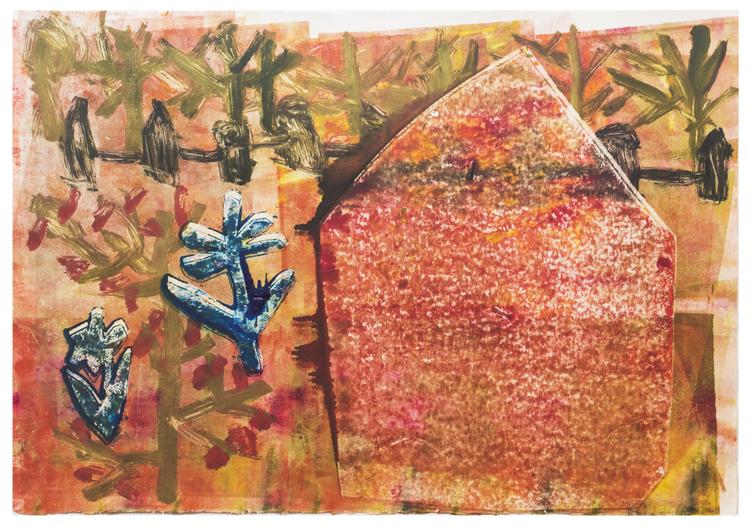 'Ödestomten', 2019, ett konstverk av Eva Kerek