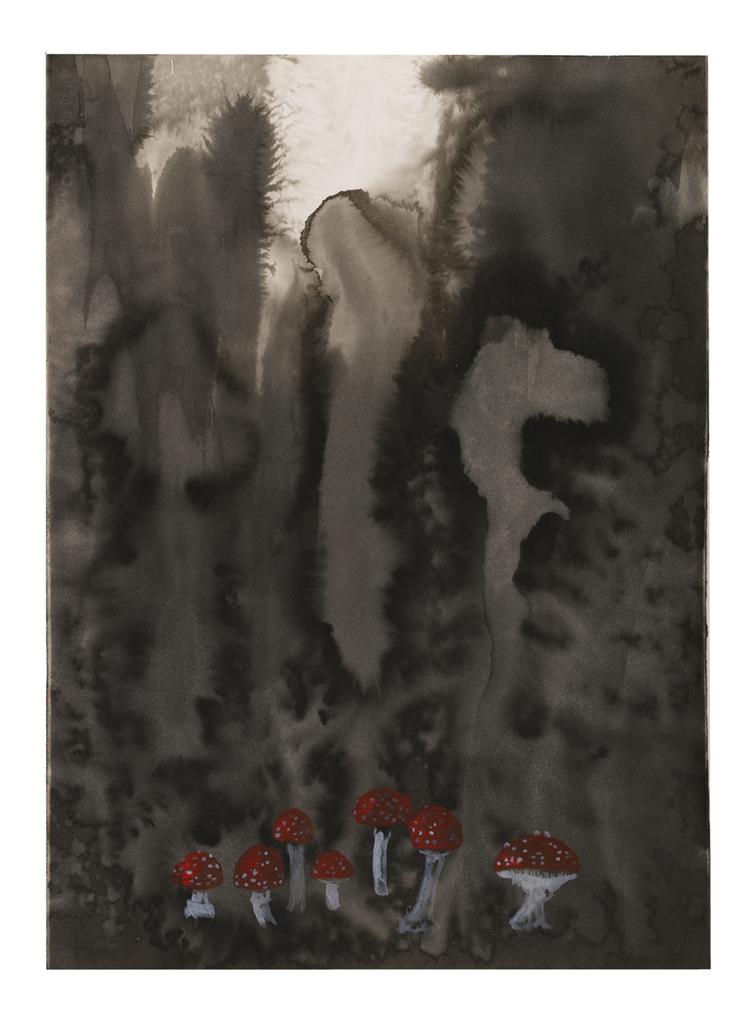 'Utan titel', 2019, ett konstverk av Helena Brunius