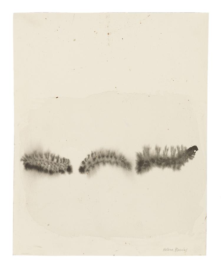 'Caterpillars', 2015, ett konstverk av Helena Brunius