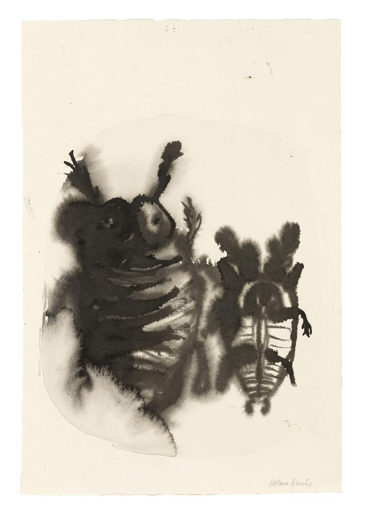'Coleoptera', 2015, ett konstverk av Helena Brunius