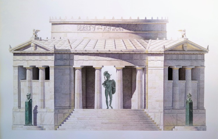 'Mausoleum', 2016, ett konstverk av Ernst Christian Efvergren