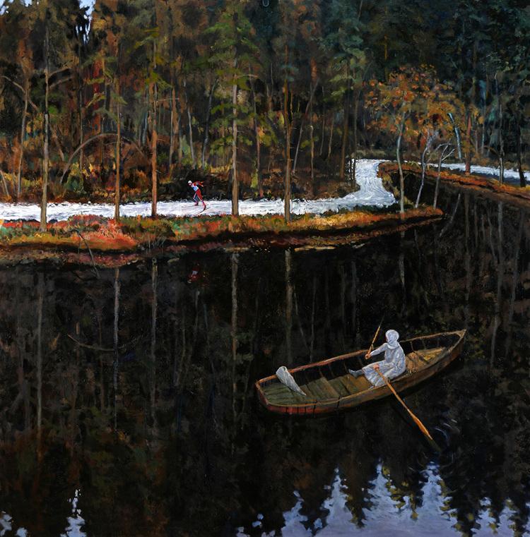 'Tacksam', 2016, ett konstverk av Staffan Westerlund