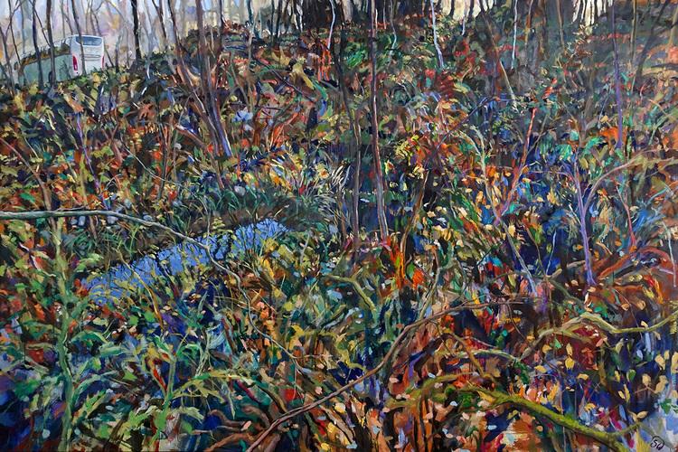 'Purifying', 2020, ett konstverk av Staffan Westerlund
