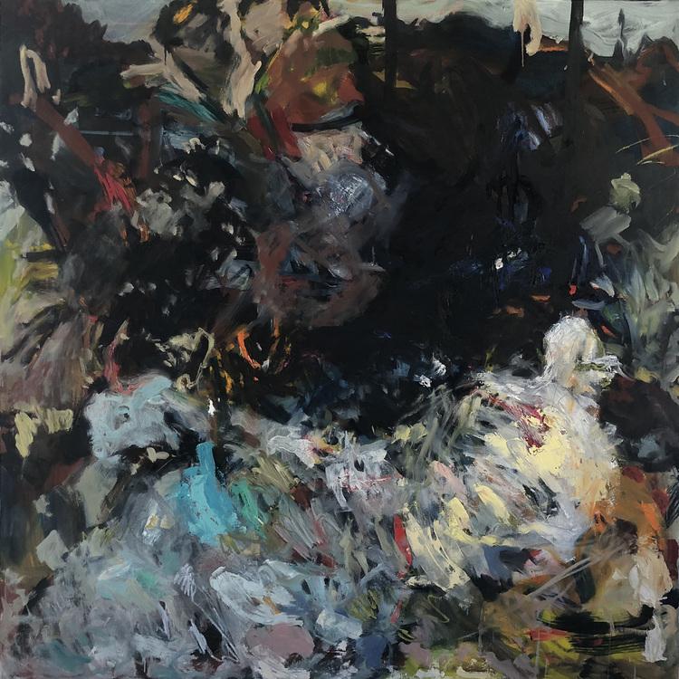 'Chanseportrait', 2018, ett konstverk av Staffan Westerlund