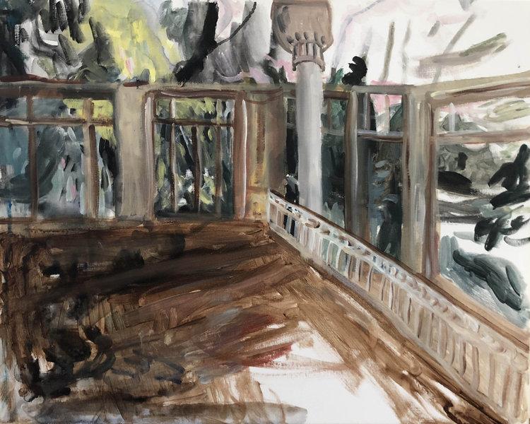 'They overstayed their welcome pt. II', 2018, ett konstverk av Johan Barrett