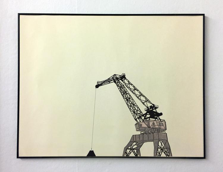 'Mortal Remains (Luleå)', 2017, ett konstverk av Tomas Conradi