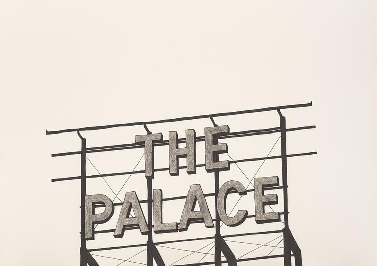 'The Palace', 2015, ett konstverk av Tomas Conradi