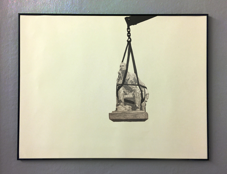 'Temporary statues (Cape Town)', 2017, ett konstverk av Tomas Conradi