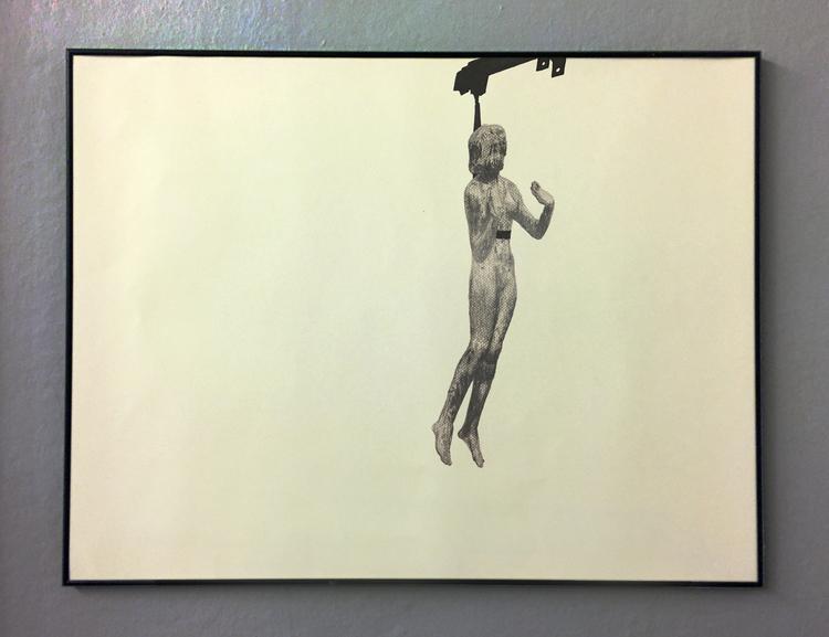 'Temporary statues (Hötorget)', 2017, ett konstverk av Tomas Conradi