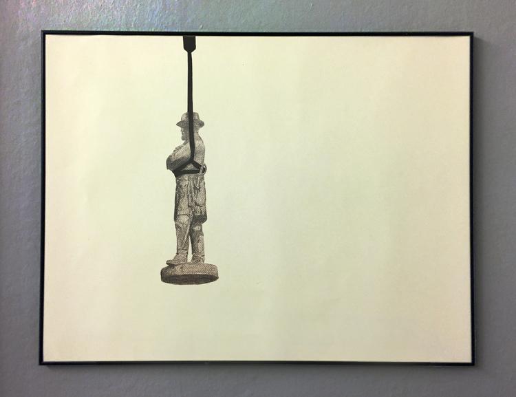 'Temporary statues (New Orleans)', 2017, ett konstverk av Tomas Conradi