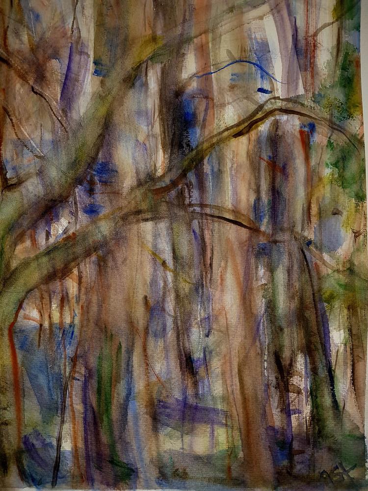 ' Springor', 2016, ett konstverk av Anna Silverforsen