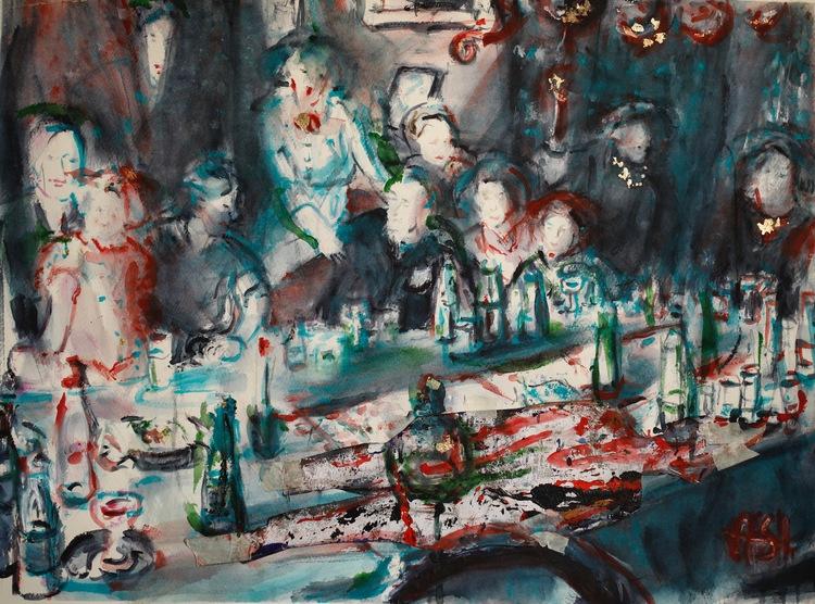 ' Utspillda', 2017, ett konstverk av Anna Silverforsen