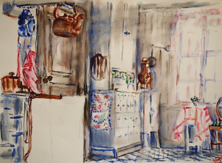 ' Koppar', 2017, ett konstverk av Anna Silverforsen