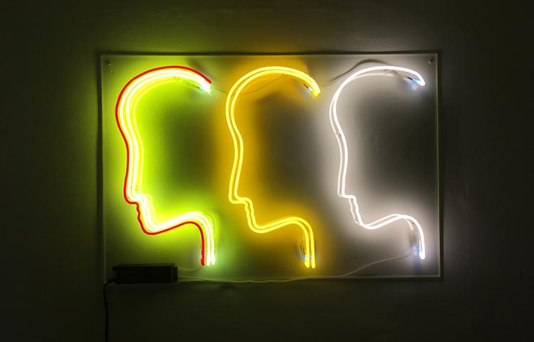 'Every Set Is A Mindset Set', 2017, ett konstverk av Josefin Eklund