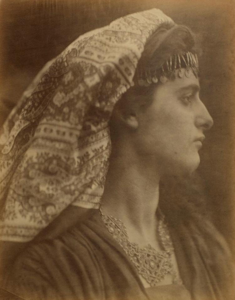 'The Mother of Salome', 1870, ett konstverk av Julia Margaret Cameron
