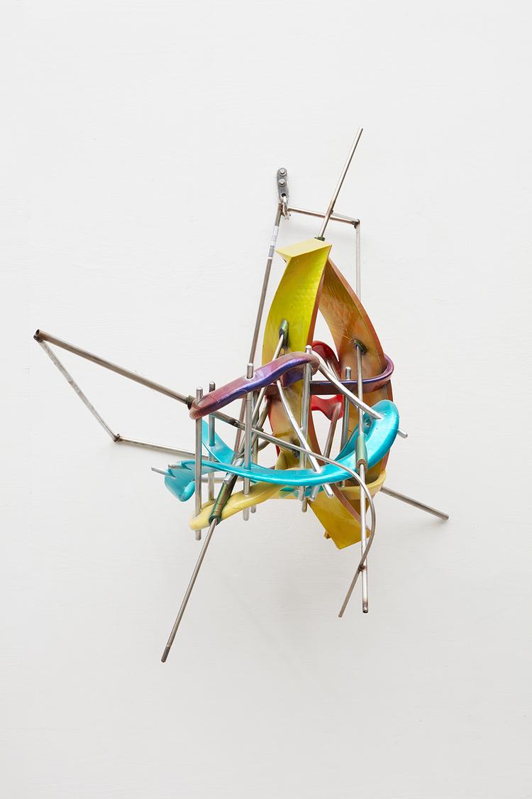 'Bow Ties with Ribbons', 2016, ett konstverk av Frank Stella