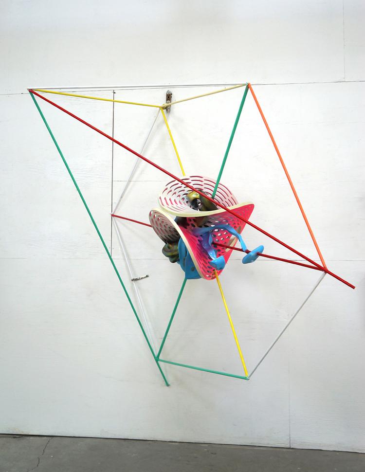 'K.503', 2015, ett konstverk av Frank Stella