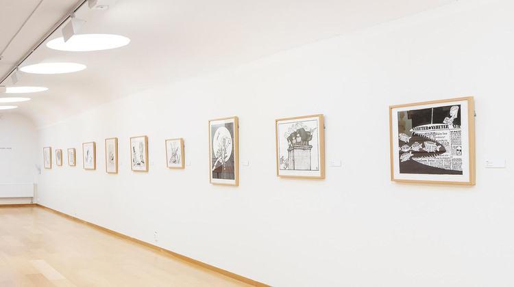 'Installation view', ett konstverk av Ewert Karlsson