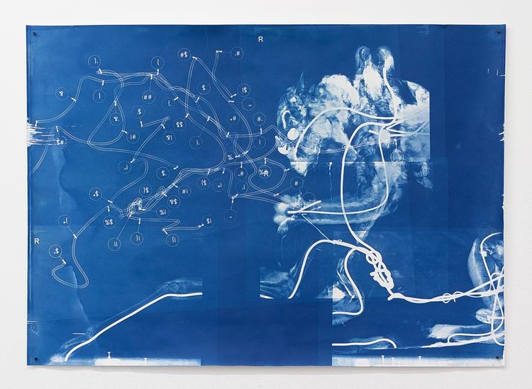 'Savane Du Sud (Pirouette)', 2017, ett konstverk av Revital Cohen & Tuur Van Balen