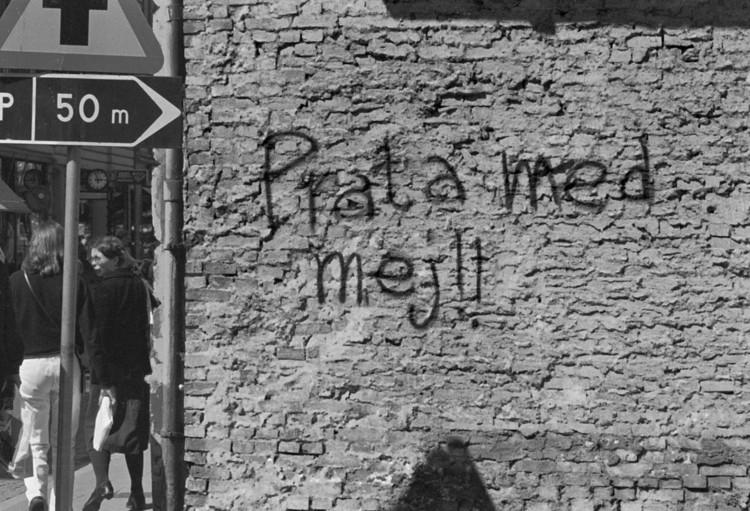 'The Ghetto', ett konstverk av Ola Åstrand