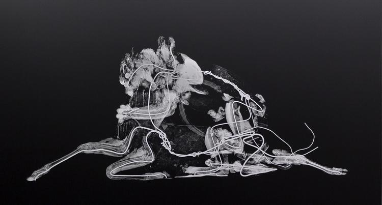 'Savane Du Sud', 2016, ett konstverk av Revital Cohen & Tuur Van Balen