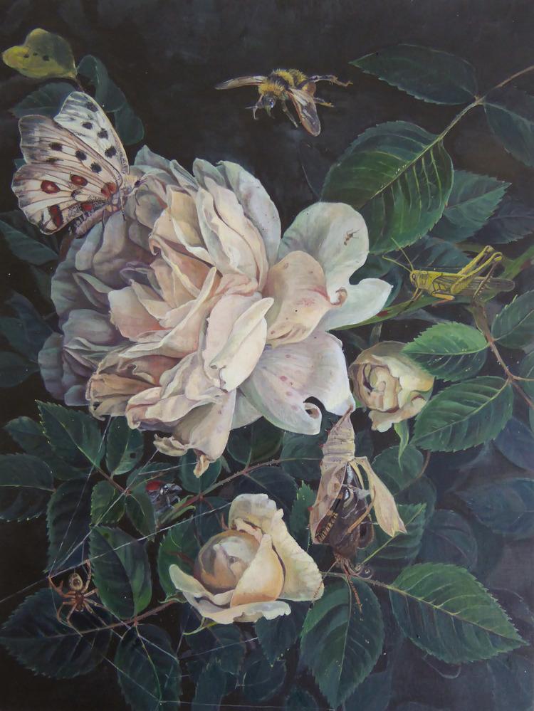 'Blomman', ett konstverk av Martina Muntzing