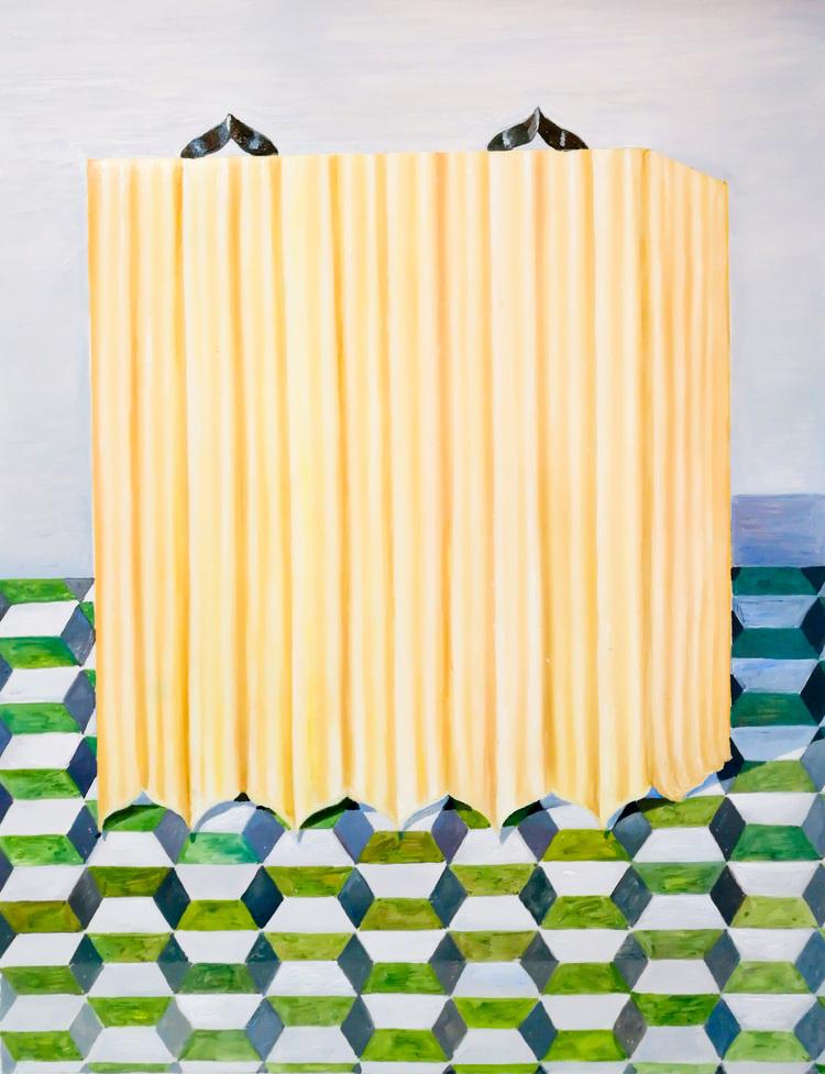 'Gultemplet', ett konstverk av Annika Johansson