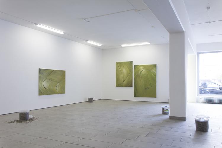 'Installation view', ett konstverk av Kalle Lindmark