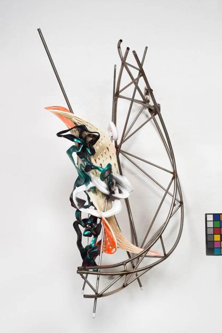 'K.502', 2015, ett konstverk av Frank Stella