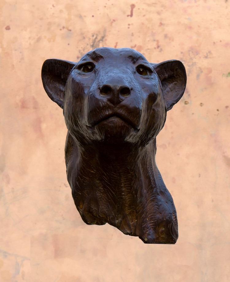 'Gepard', ett konstverk av Kent Ullberg