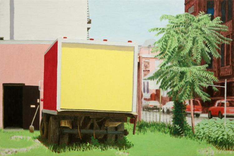 'Parked', 2014, ett konstverk av Pelle Perlefelt
