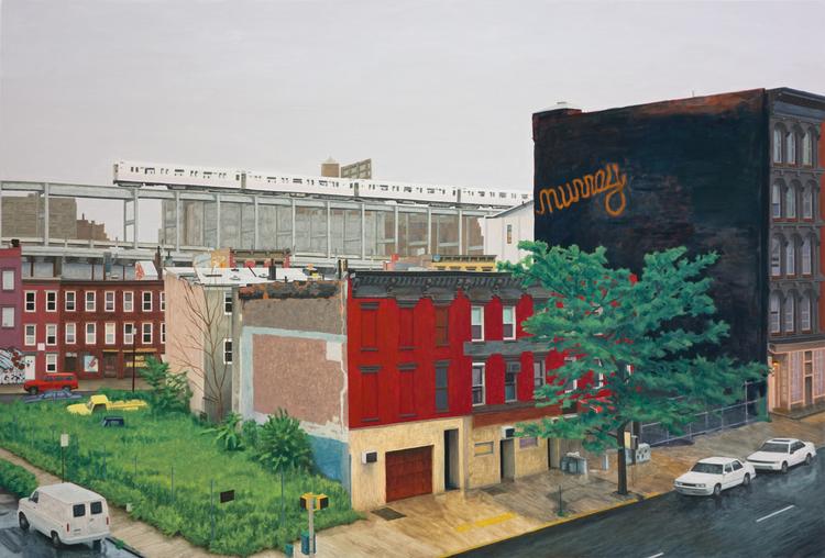 'Neighbourhood, Broadway Berry', ett konstverk av Pelle Perlefelt