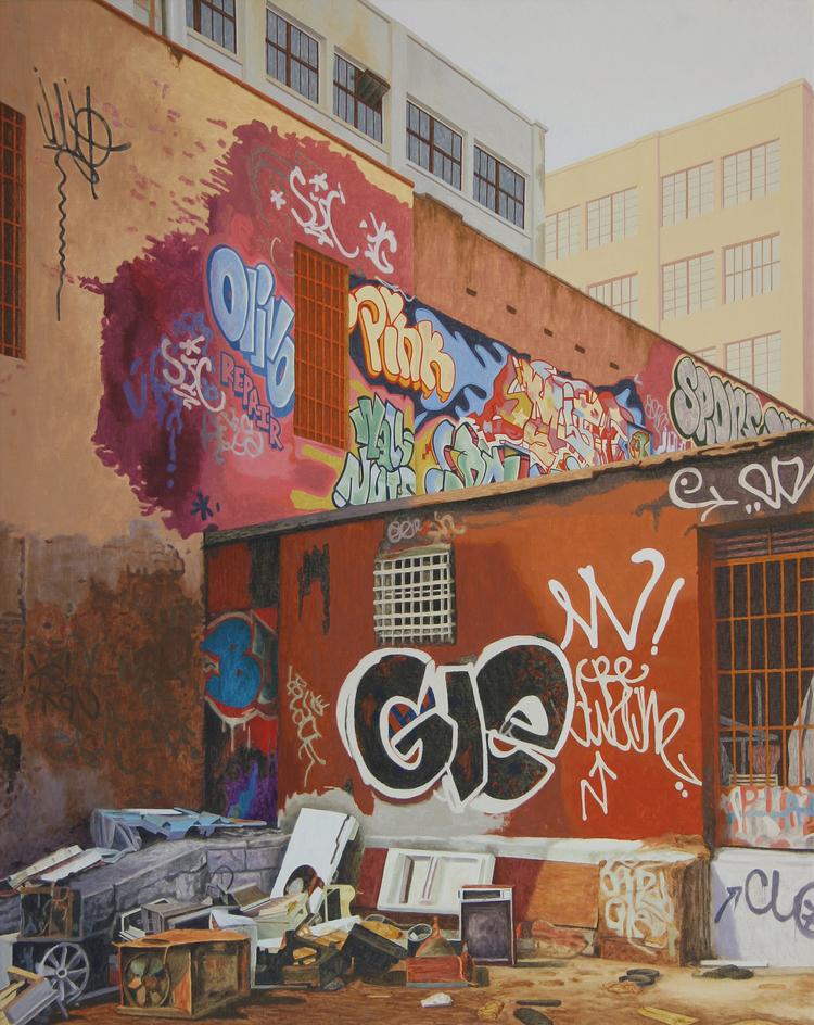 'Alley', ett konstverk av Pelle Perlefelt