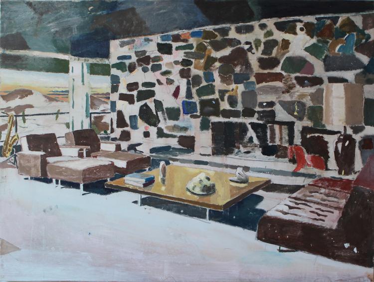 'In these walls', ett konstverk av Jan-Albert Carlsson