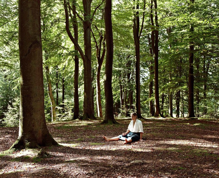'The forest', ett konstverk av Nygårds Karin Bengtsson