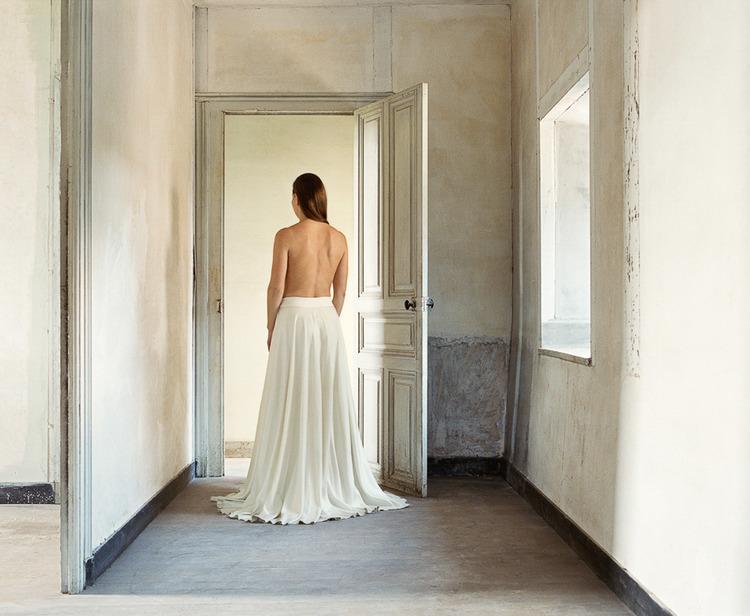 'White Corridor', ett konstverk av Nygårds Karin Bengtsson