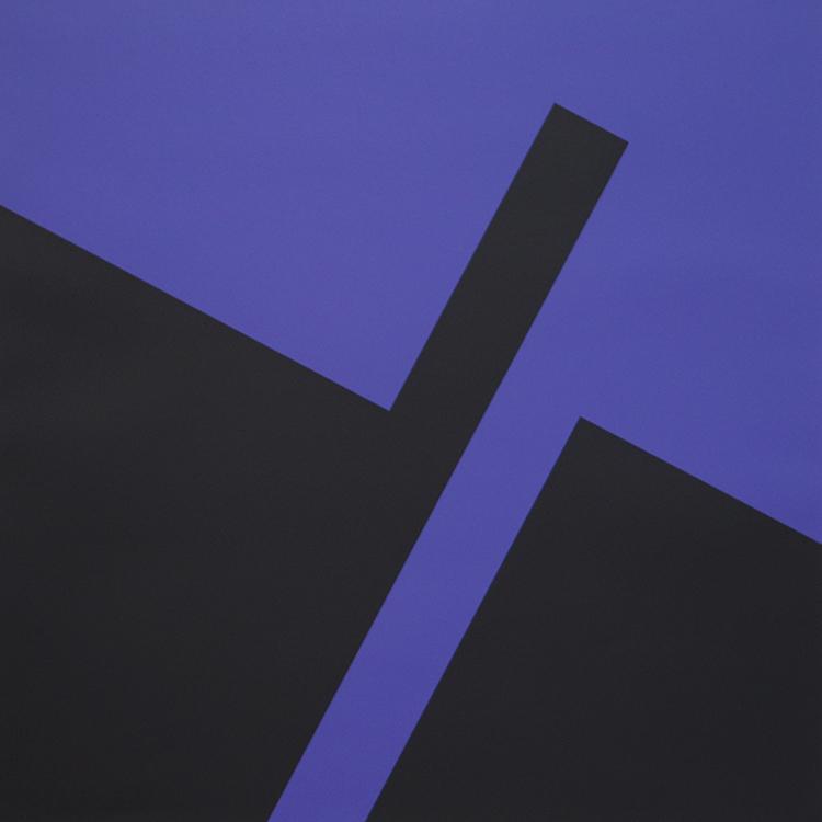 'Erupsjon 4', ett konstverk av Herman Hebler