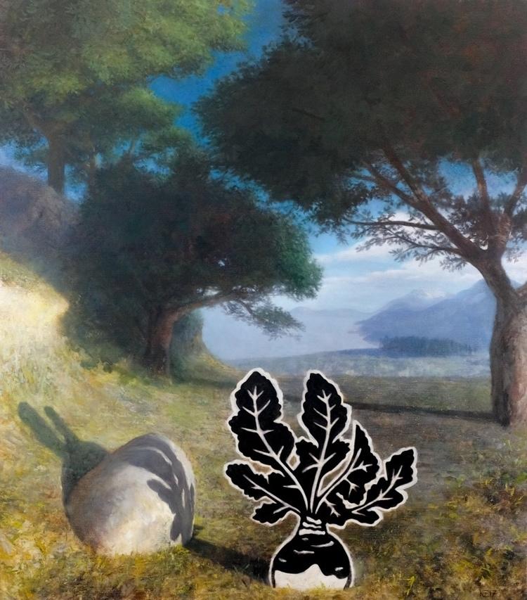 'The Grove (III)', 2017, ett konstverk av Kristoffer Zetterstrand