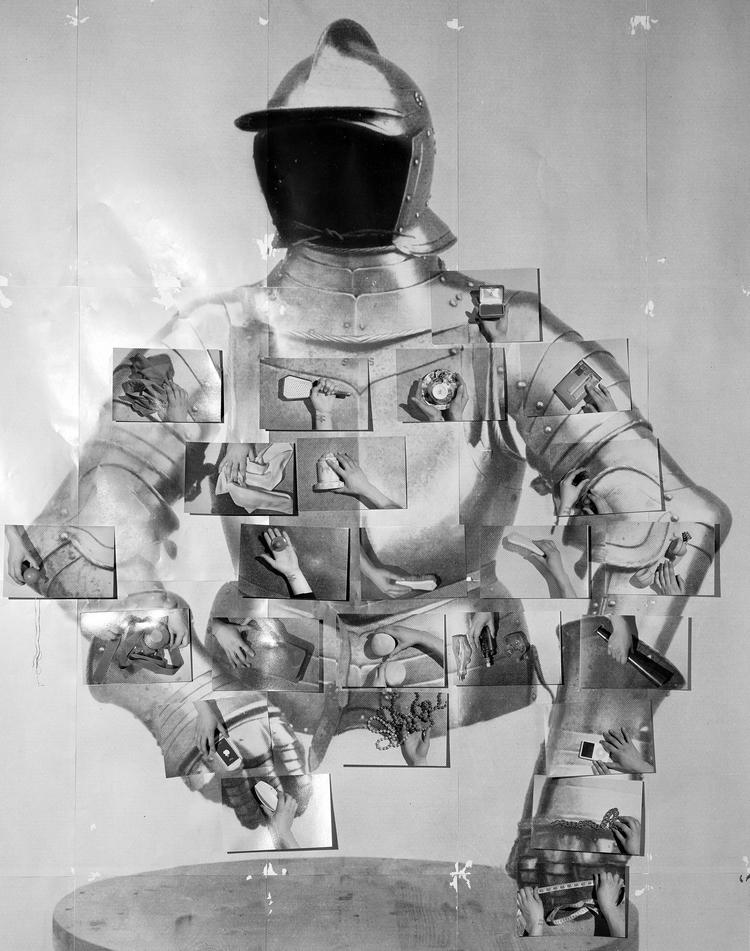 'Armor', 2017, ett konstverk av Sara Cwynar