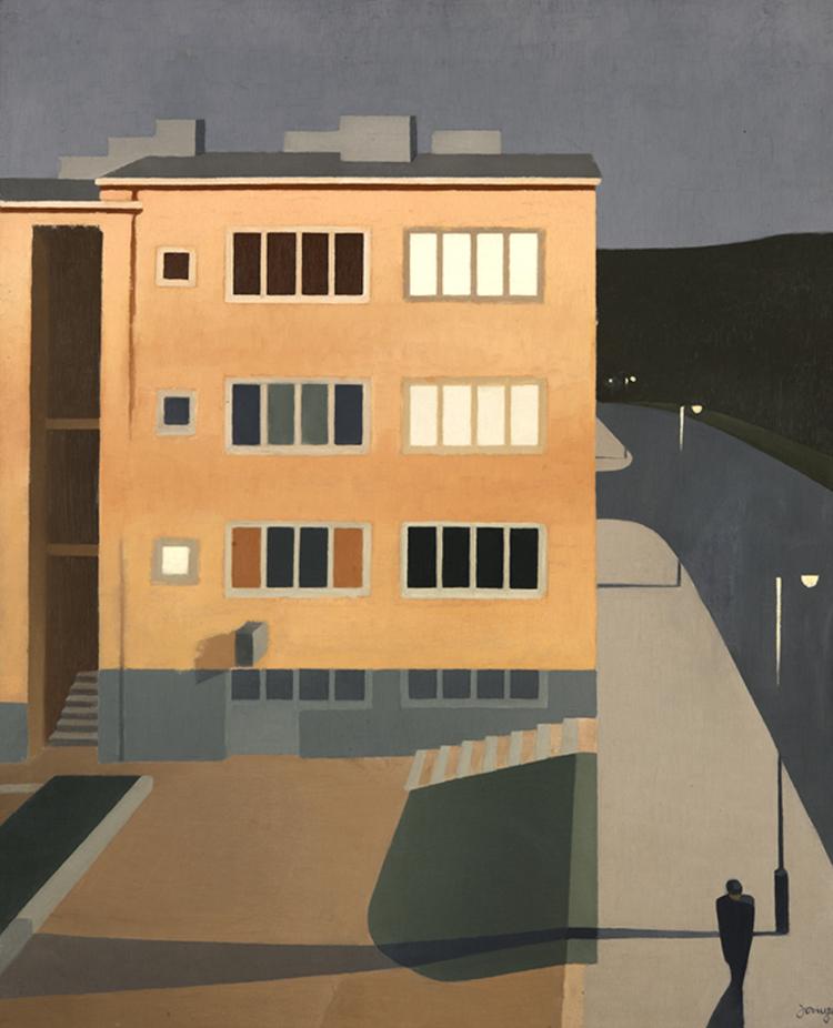 'Från Eriksdal', ett konstverk av Torsten Jovinge
