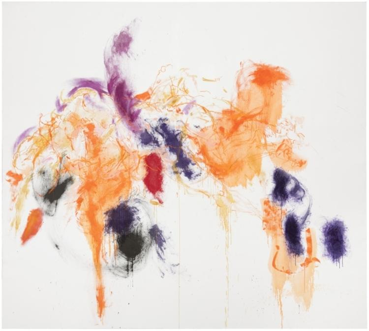 'Sommarlek', 2017, ett konstverk av Marjatta Tapiola