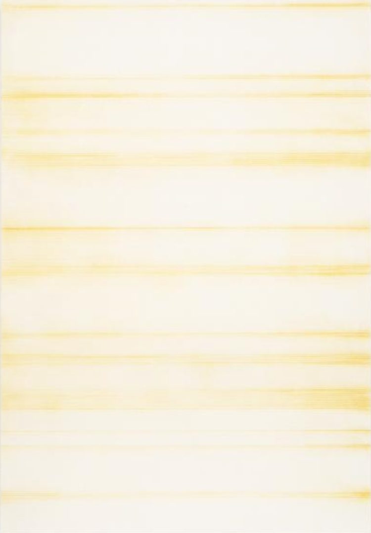 'Untitled (Italian Gold Ocre Light)', 2017, ett konstverk av Sofie Thorsen