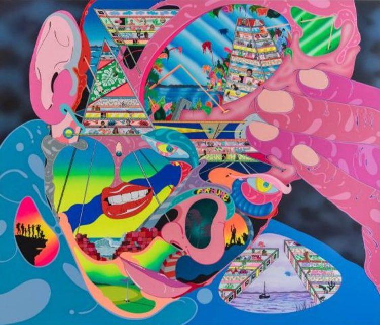 'Untitled', ett konstverk av Erik Parker